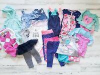 25 Piece 12 Month Baby Girl Lot | Tops, Bottoms, Dress, Pajamas