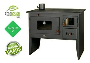 Kitchen Stove Wood Stove Legs Stove Multi Fuel Cast Iron Top Prity 2P50 16 KW Left