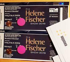 ++ Helene Fischer Show 2018 ++ 07.12.18 ++ 2 TOP Plätze im Unterrang A2
