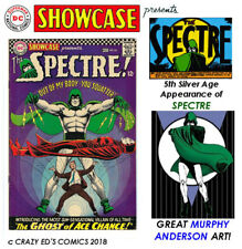 SHOWCASE # 64 Glossy FN+ Final SPECTRE Try-out! Great MURPHY ANDERSON art!