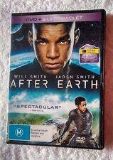 AFTER EARTH (DVD+ ULTRAVIOLET) R: 2+4+5, LIKE NEW, FREE SHIPPING IN AUSTRALIA