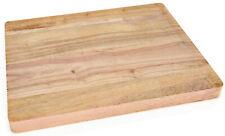 Hackbrett Schneidebrett Tranchierbrett 53x32,5x3,8cm Holz Holzbrett Brett GN 1//1