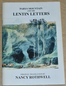 PARYS MOUNTAIN LENTIN LETTERS North Wales Anglesey Copper Mines Industry History