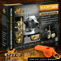 DT Systems RAPT 1400 CAMO CoverUp Rapid Access Pro Dog Trainer - FREE WHISTLE