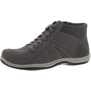 Easy Street Womens Chill Gray Ankle Lace-Up Boot Shoes 8 Medium (B,M) BHFO 2034