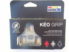 LOOK Keo Grip 4.5° Float Grey Road Bike Pedal Cleats *New*