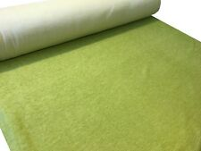 NEXT Soft Feel Lime Green Chenille Curtain Upholstery Fabric Material 153cm