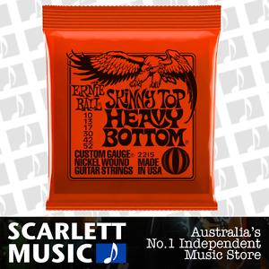 Ernie Ball 2215 Skinny Top Heavy Bottom 10-52 Slinky Strings *BRAND NEW*