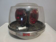 Vintage Antique Yankee Beacon Emergency Lamp Light Model 354N 4 RED MOTION LIGHT