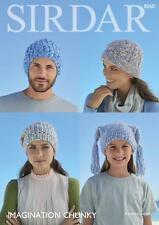 Sirdar 8060 Knitting Pattern Family Accessories Hats in Sirdar Imagination Chunk