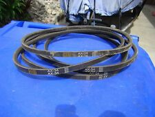 Commercial washer and dryer belts.