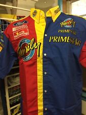NASCAR WINSTON CUP SERIES #16 ROUSH RACING FAMILY CHANNEL PRIMESTAR CREW SHIRT