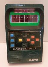 Vintage Mattel Classic Football 2 Electronic Handheld Game -Tested & Works Great
