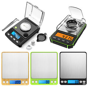 0.01g-500g/0.001g-50g Digital Balance Kitchen Jewellery Weighing Food Gold Scale