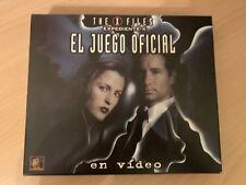EXPEDIENTE X EL JUEGO OFICIAL (JUEGO DE MESA) CONTIENE CINTA VHS - X Files