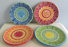 Certified International Joyce Shelton Studios 4 Plates 6 1/4""