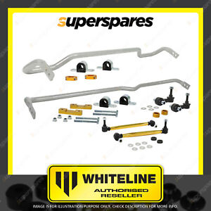 Whiteline F and R Sway bar vehicle kit for SKODA OCTAVIA MK3 TYP 5E