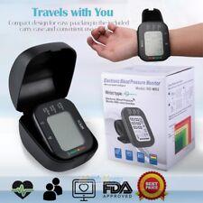 Upgrade Auto Digital Wirst Blood Pressure Monitor BP Cuff Gauge Machine Meter US