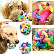 Funny Pet Dog Puppy Dental Teething Healthy Clean Chew Training Play Ball Toy