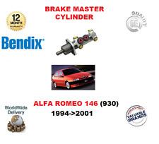 FOR ALFA ROMEO 146 (930) 1994-2001 NEW BENDIX BRAKE MASTER CYLINDER 46535126