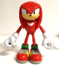 "SEGA Jazwares Sonic The Hedgehog Knuckles 6"" Super Posable Figure [A37]"