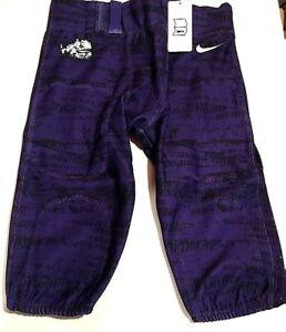 Texas Christian University TCU Horned Frogs Football Pants Youth Large NIKE NWT