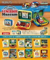 Re-ment PEANUT SNOOPY LUNCHBOX MUSEUM Completed Set for dollhouse