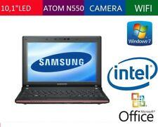 "NETBOOK SAMSUNG N150 PLUS 10,1"" LED RAM 2GB HD 250GB WEBCAM INTEGRATA WINDOWS 7"