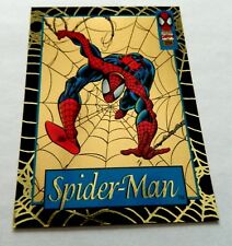 1994 Amazing Spider-Man SPIDER-MAN no. 1 GOLD WEB WAL-MART Chase Card VERY RARE!