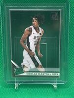Nicolas Claxton 2019-20 Clearly Donruss Rated Rookie RR RC #79 Nets H30