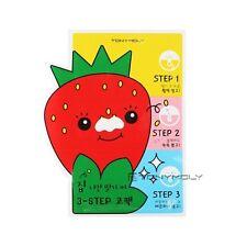 [Tonymoly] Mr strawberry Blackhead 3-STEP Nose pack Pore Care Made in Korea