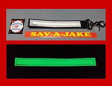 Sav-A-Jake Firefighter Glow/Reflective Glove Strap Trigger Snap - Black