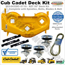 "Cub Cadet 50"" Deck Shell Kit (Yellow) for Lawn Tractors / 903-04328C-0716-KIT"
