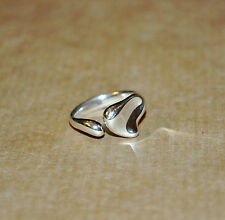 TIFFANY & CO. Elsa Peretti Sterling Silver Full Heart Ring Size 6