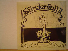 SUNDENFALL II LP/1972 Germany/German Folk/Prog/Jazz Rock/Jethro Tull