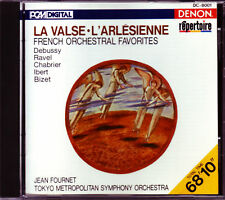 Fournet/Tokyo Metropolitan: French Orchestral Favorites - Denon CD