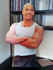 Vin Diesel Display Standee Stand CUT OUT NEW Fast & Furious Riddick xXx