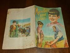 ALBUM FIGURINE MARCELLINO PANE E VINO Ed. LAMPO 1955 QUASI COMPLETO - OTTIMO !!