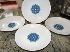 THOMAS GERMANY 4  PIECE  PINWHEEL FINE CHINA BOWLS 19cms USED