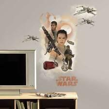 Wandsticker Star Wars VII Erwachen der Macht Rey Finn BB8 Wandtattoo 42 x 72 cm