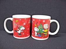 NEW set 2 SNOOPY Christmas mugs Galerie