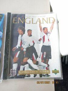 Upper Deck England 1998 Collectors Album Sealed Unopened