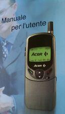 Téléphone Cellulaire Vintage Acer V755 Nouveau A Coquille LCD Blanc Et Noir RAR