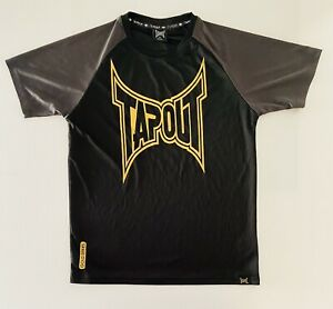 Tapout T Shirt Size M(W19in L28in) Activewear Gym Training MMA