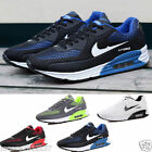 Men's Casual Leather Lace Up Running Sports Athletic Shoes Sneakers