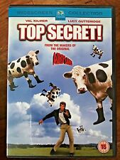 Val Kilmer Peter Cushing TOP SECRET ~ 1984 Cult Spy Comedy Spoof Classic UK DVD