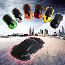 Oficial Porsche Coche Auto Wireless Laser ratón del ordenador