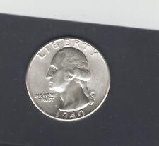 COINS US WASHINGTON QUARTER 1940