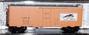 Micro-Trains  N scale  American Colloid  #990 40' Standard Boxcar - 02100090