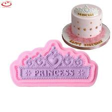 Princess Crown Silicone Fondant Mold Cake Decor Chocolate Sugarcraft Baking Mold